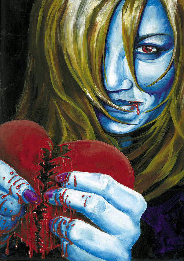 Love Painting - Evil Me Me by Matthew Milone