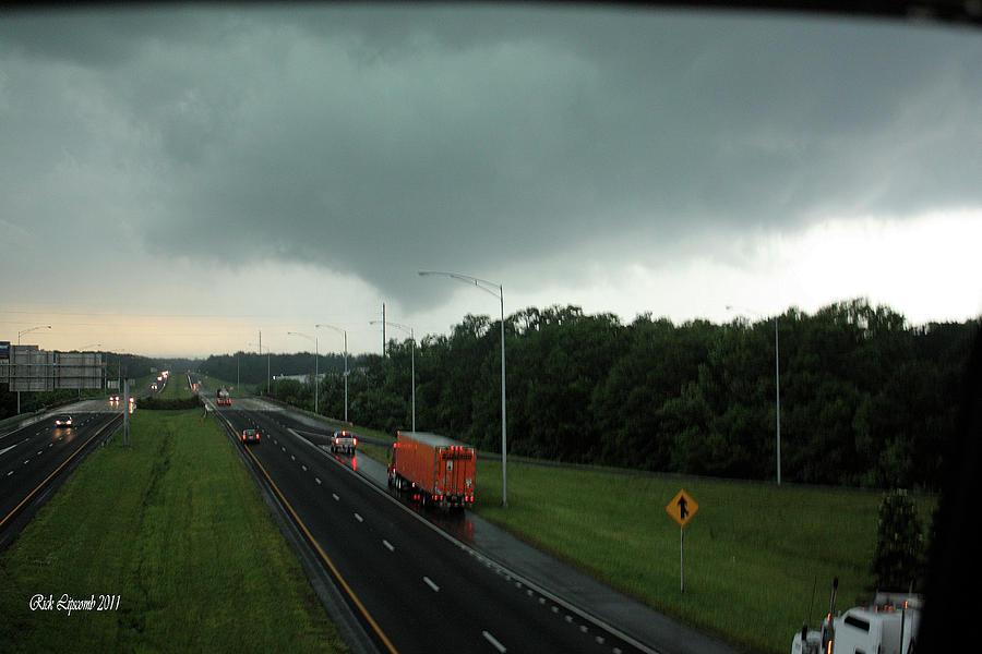 Tuscaloosa Tornado Photograph - Evil Skies... by Rick Lipscomb