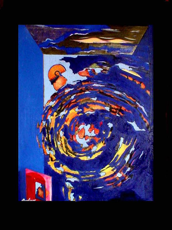 Evolution Painting by Adalardo Nunciato  Santiago