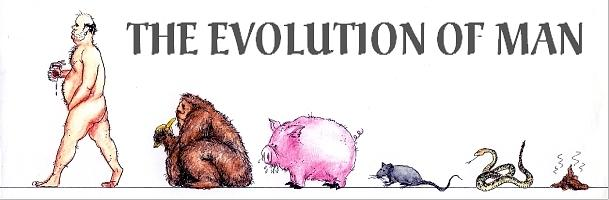 Humor Get Even Drawing - Evolution by Bruce Lennon