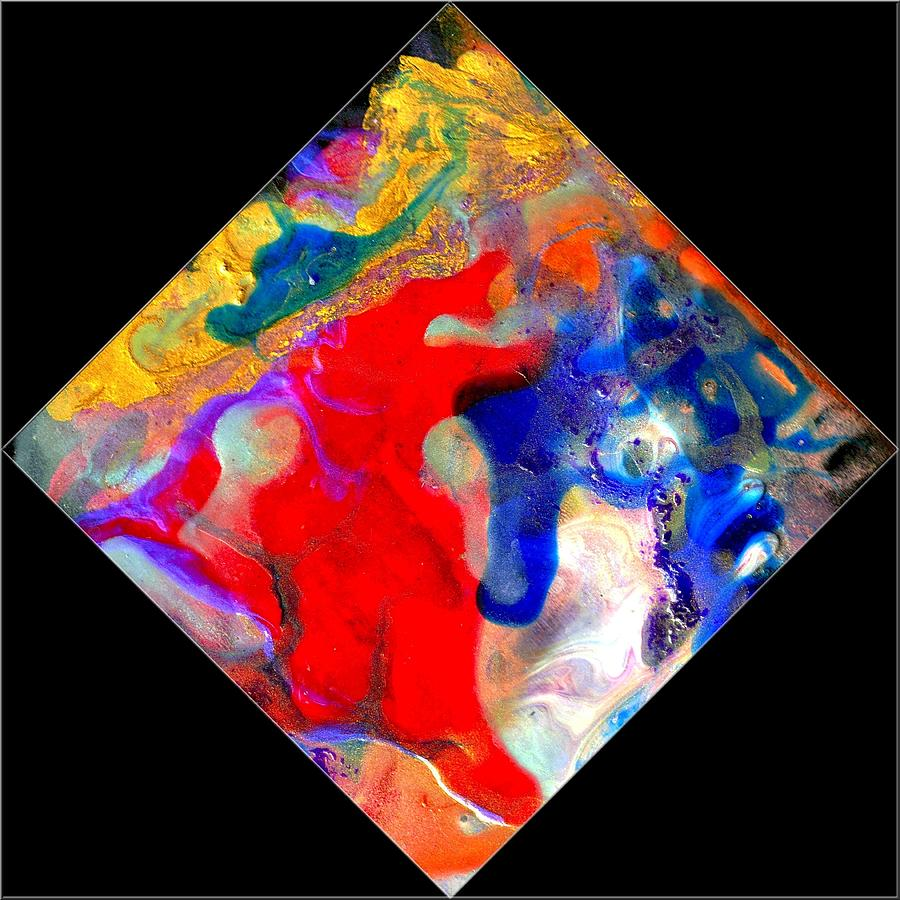 Abstract Painting - Evolution Series 1007 by Dina Sierra