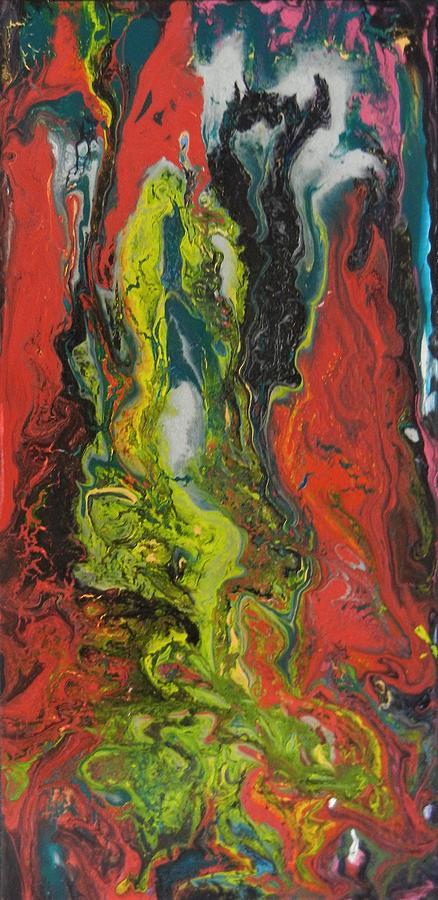 Abstract Mixed Media - Evolve by Kruti Shah