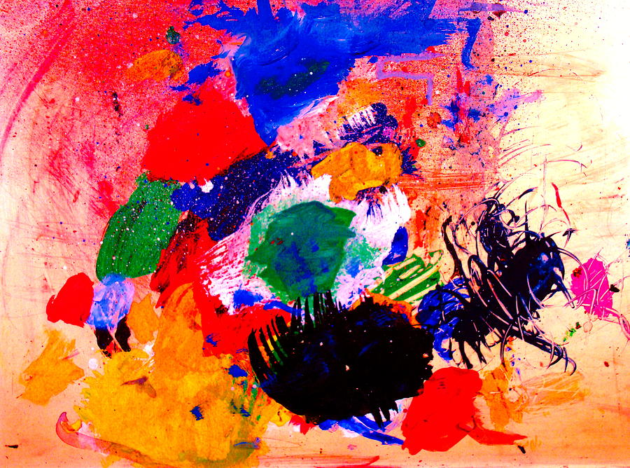 Abstract Painting - Evolving Evolution by Natalie Holland