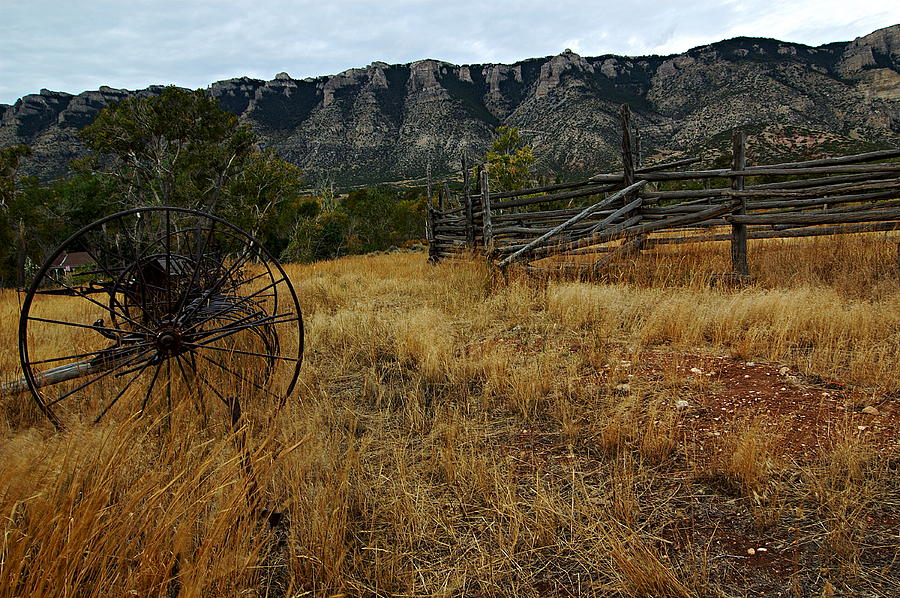 Wyoming Photograph - Ewing-snell Ranch 2 by Larry Ricker
