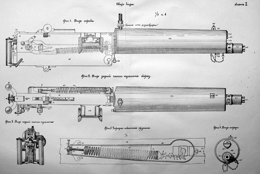 Exact Copy Of Maxim Gun by Connor Secord