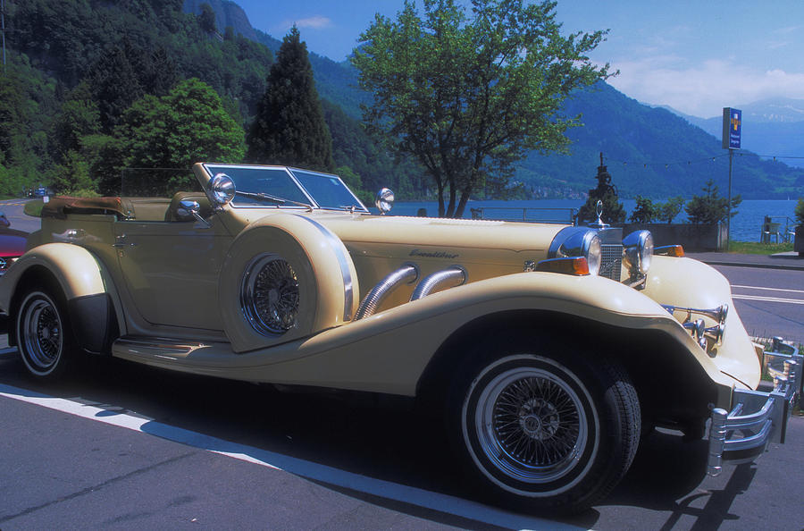 Excaliber Roadster On French Riviera Photograph