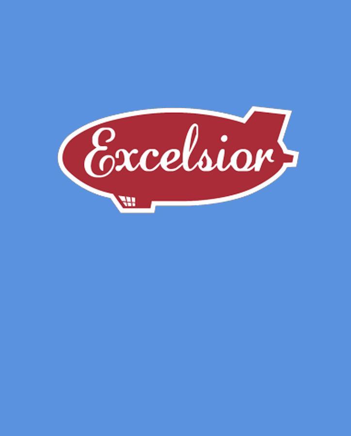 Excelsior Digital Art - Excelsior by Gazz Wood