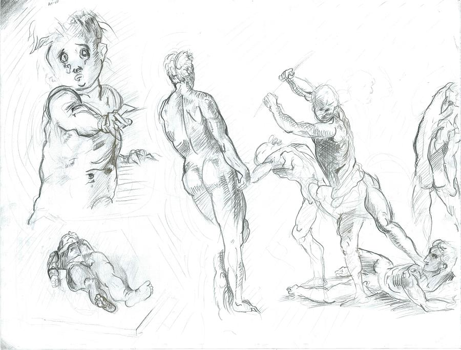 Exercise Drawing by Joseph  Arico