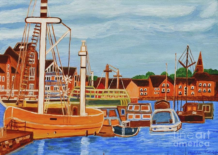 Exeter Ship Canal  by Magdalena Frohnsdorff