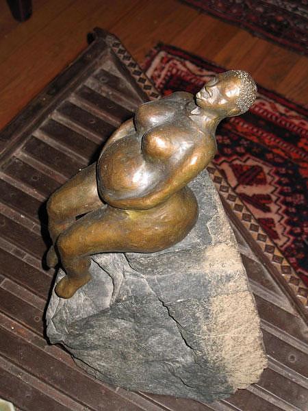 Women Sculpture - Exhale by Farin MEMA Greer