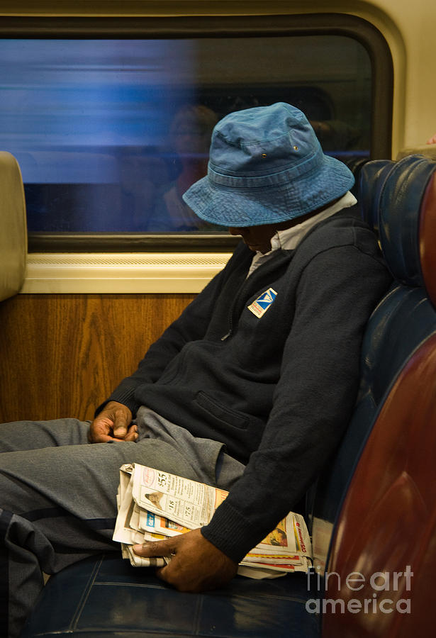 New York Photograph - Exhausted by Fred Lassmann