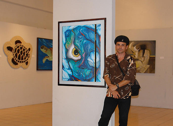 Exhibition Cancun  Photograph by Angel Ortiz