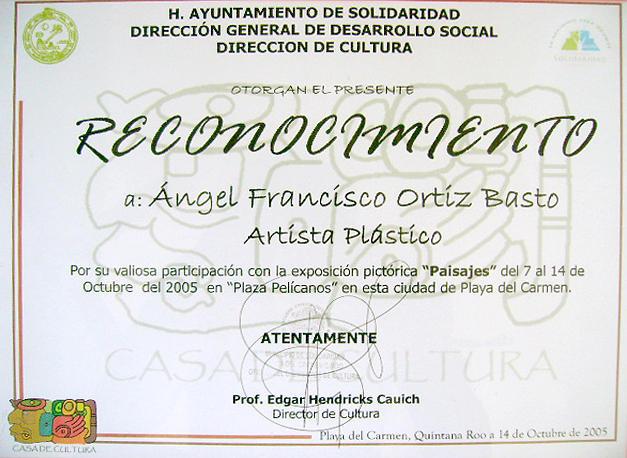 Exhibition Paisajes Photograph by Angel Ortiz