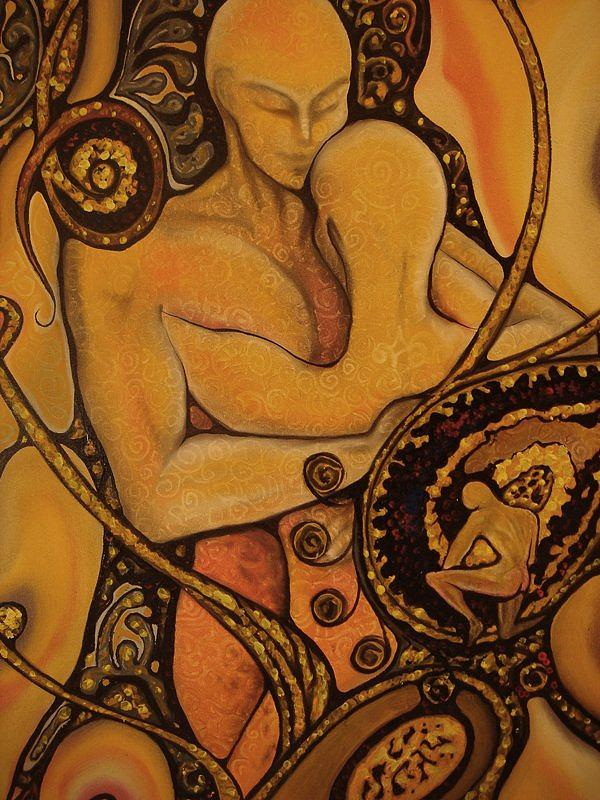 Surreal Painting - Existence Of Desire by Ibrahim Savas Pekdemir