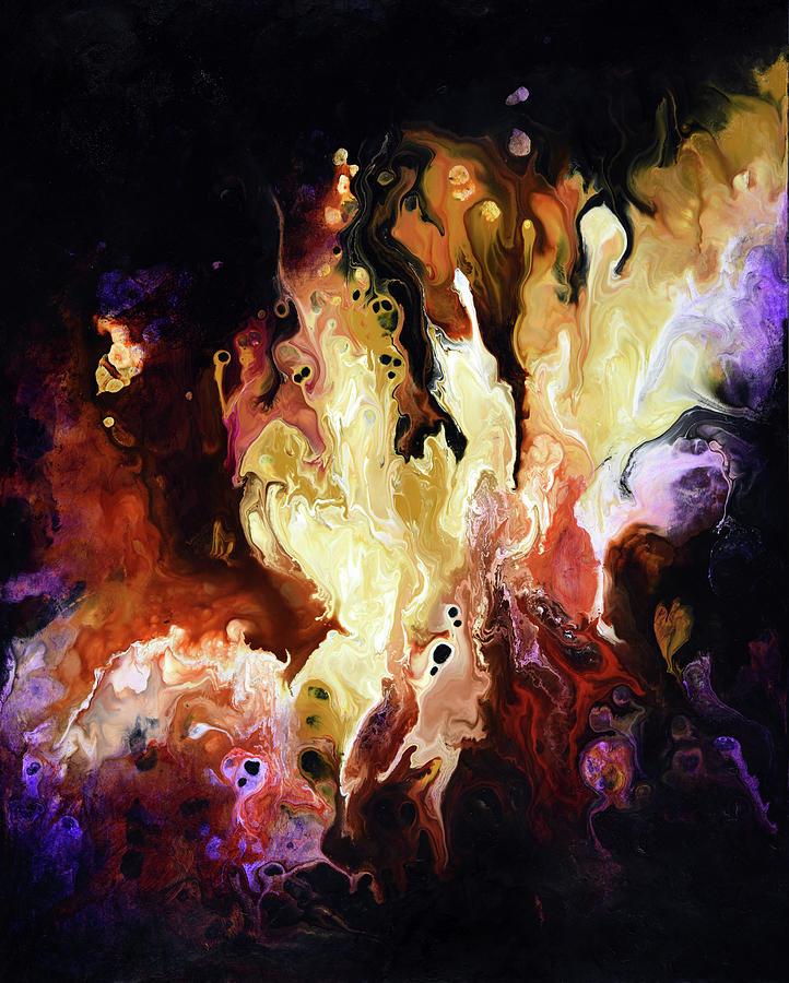 Abstract Painting - Exogenesis by Dion Kurczek