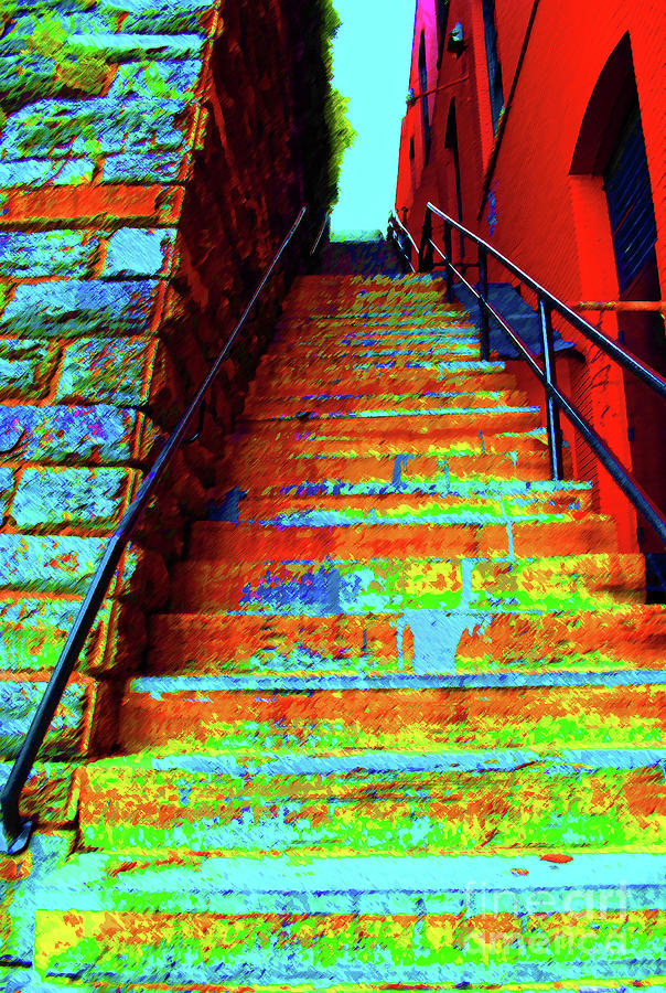 Exorcist Photograph - Exorcist Steps by Jost Houk