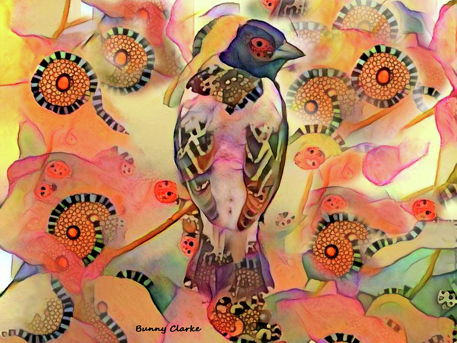 Animals Digital Art - Exotic by Bunny Clarke