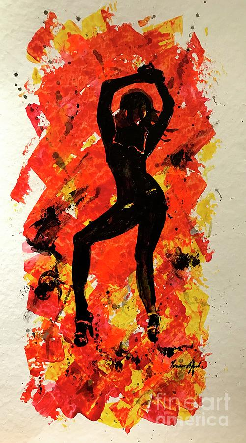 Exotic Dancer 02 by Yvonne Ayoub