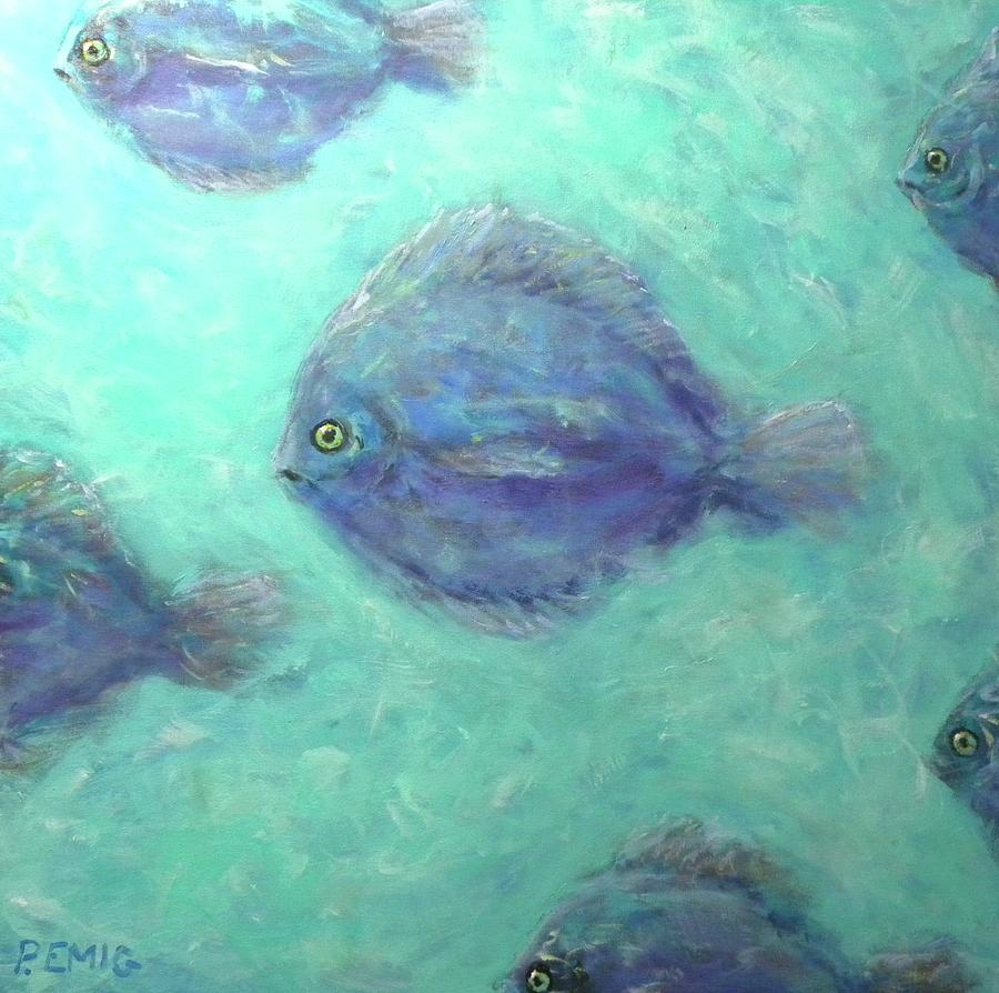 Fish Painting - Exotic Fish by Paul Emig