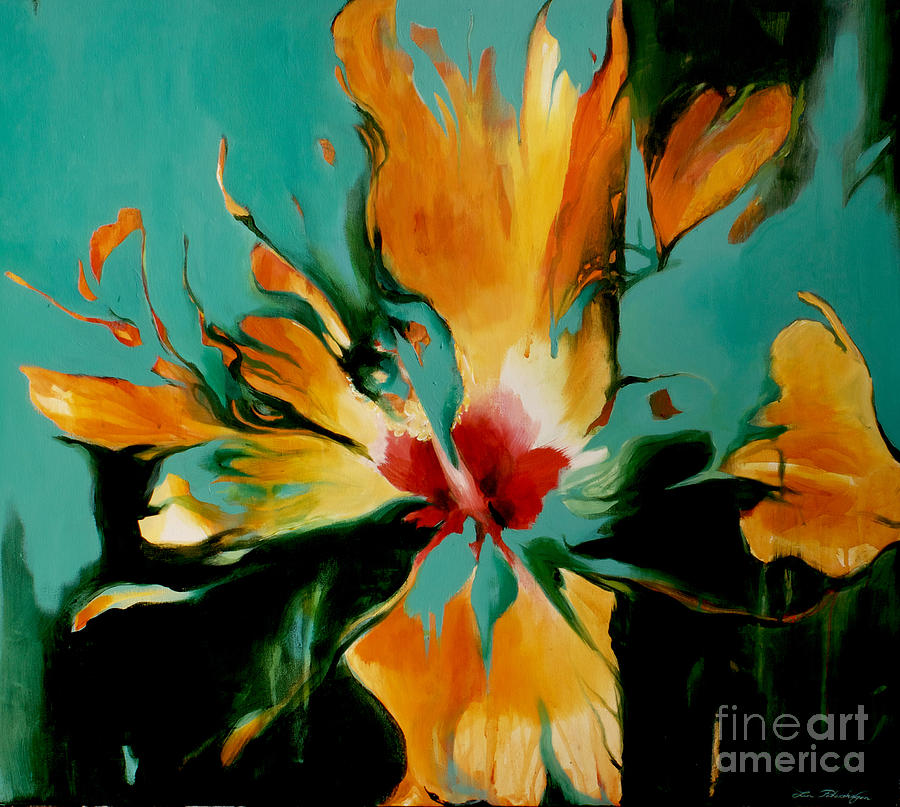 Exotic Painting By Lin Petershagen