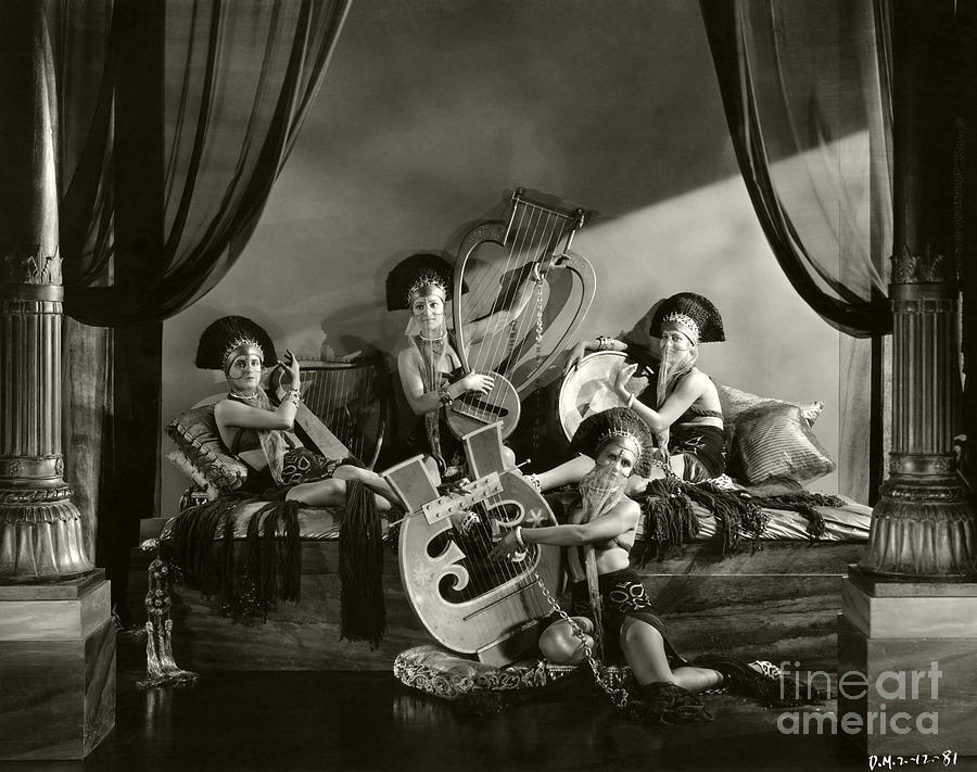 exotic musicians the king of kings 1927 photograph by sad