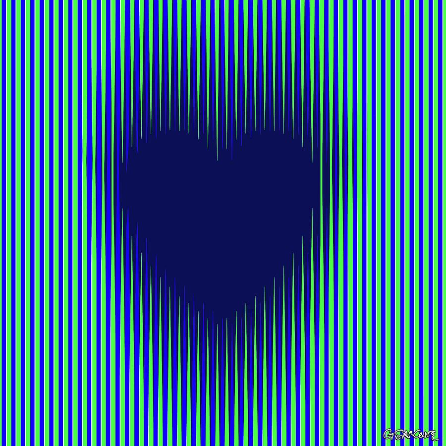 Expanding Heart 2 Mixed Media