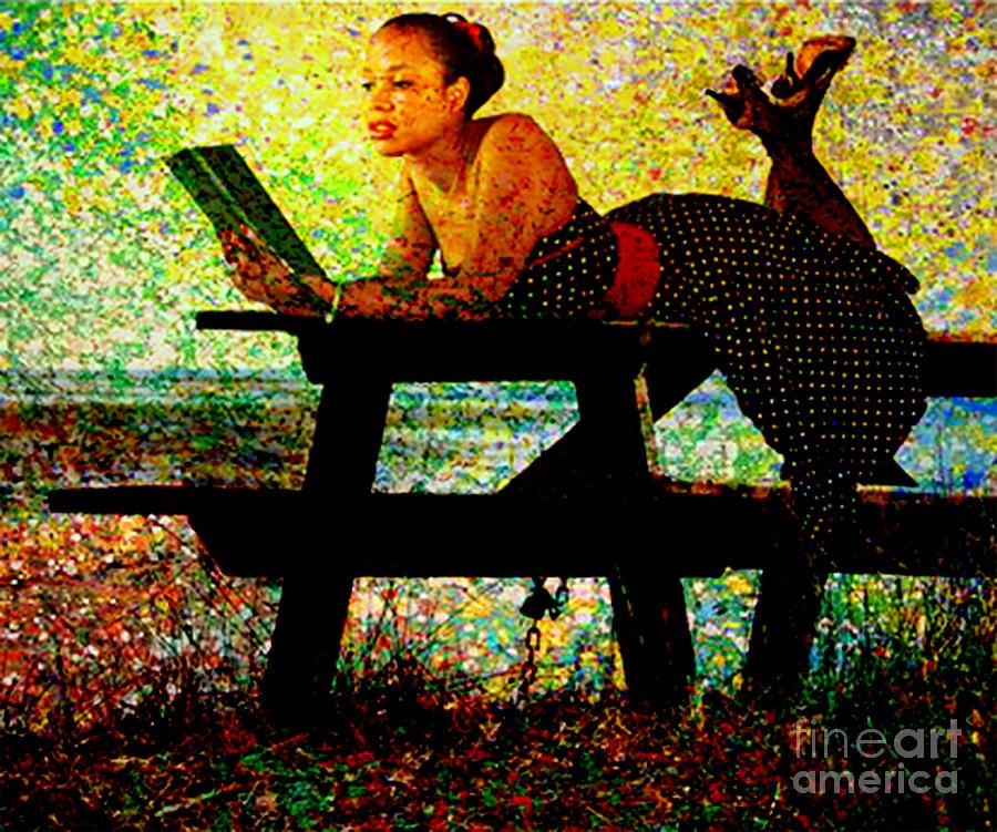 Book Mixed Media - Expanding Horizons  by Tammera Malicki-Wong