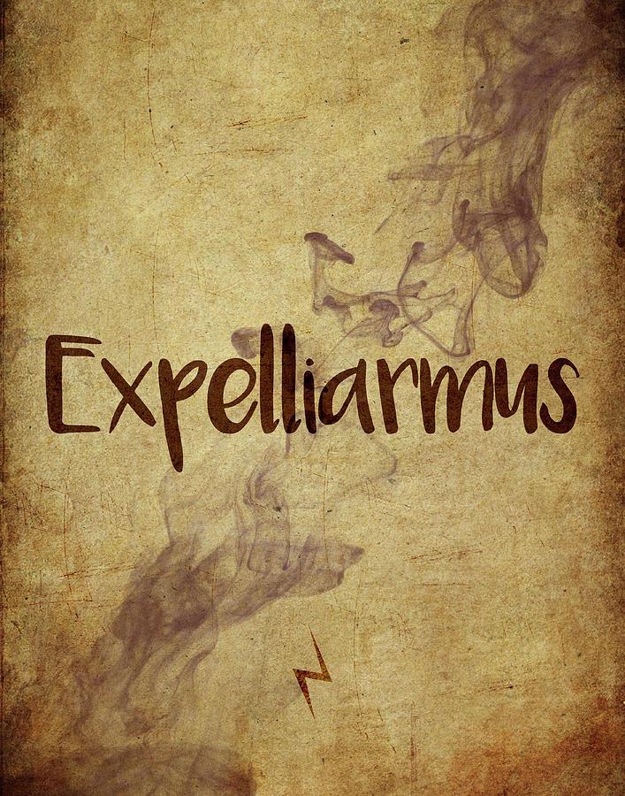 Expelliarmus Digital Art