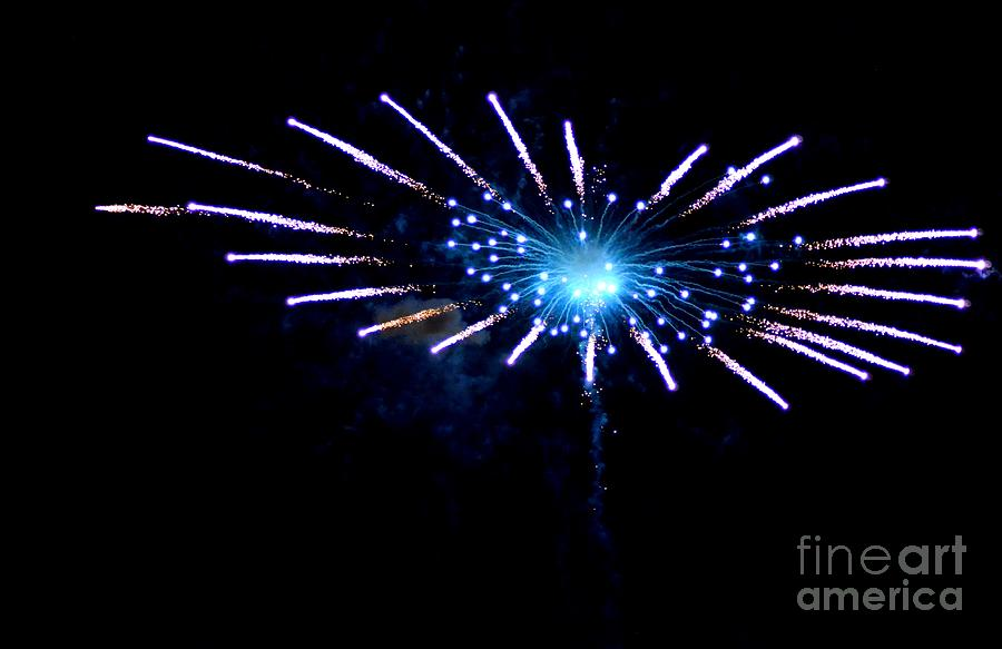 Fireworks Photograph - Exploding Flower by Jennie Stewart