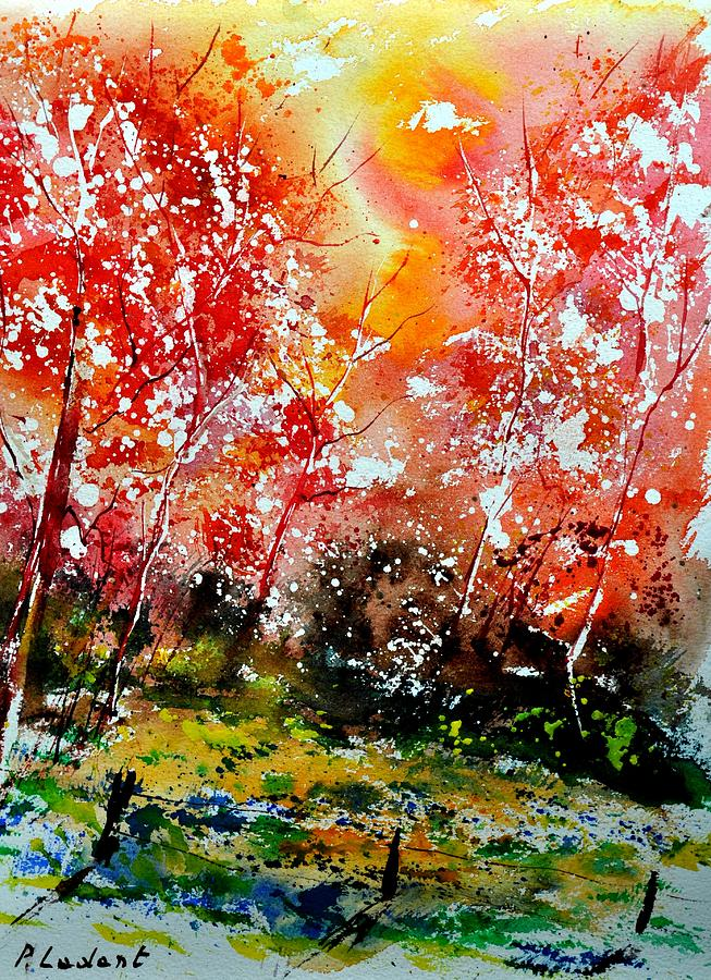 Nature Painting - Exploding Nature by Pol Ledent