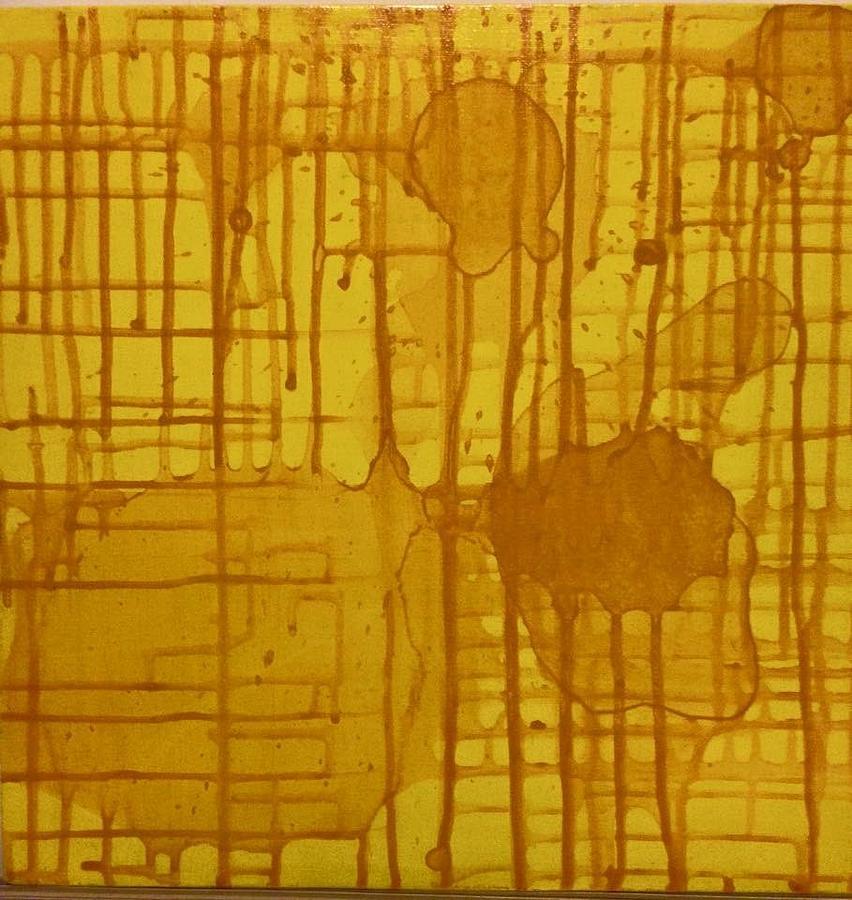 Ducks Painting - Exploration by Calvin Thomas