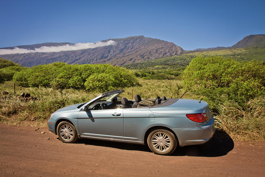 Adventure Photograph - Exploring Beautiful Maui with Style by Denis Dore