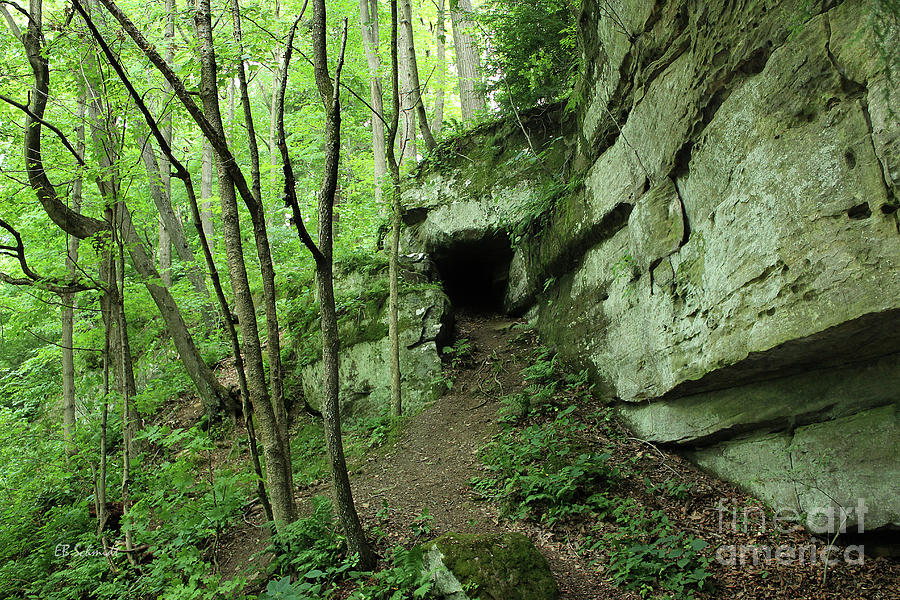 Mcconnells Mill State Park Photograph - Exploring The Gorge by E B Schmidt