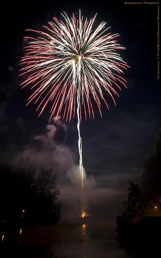 Fireworks Photograph - Explosive Flowers 7 by Heinz - Juergen Oellers