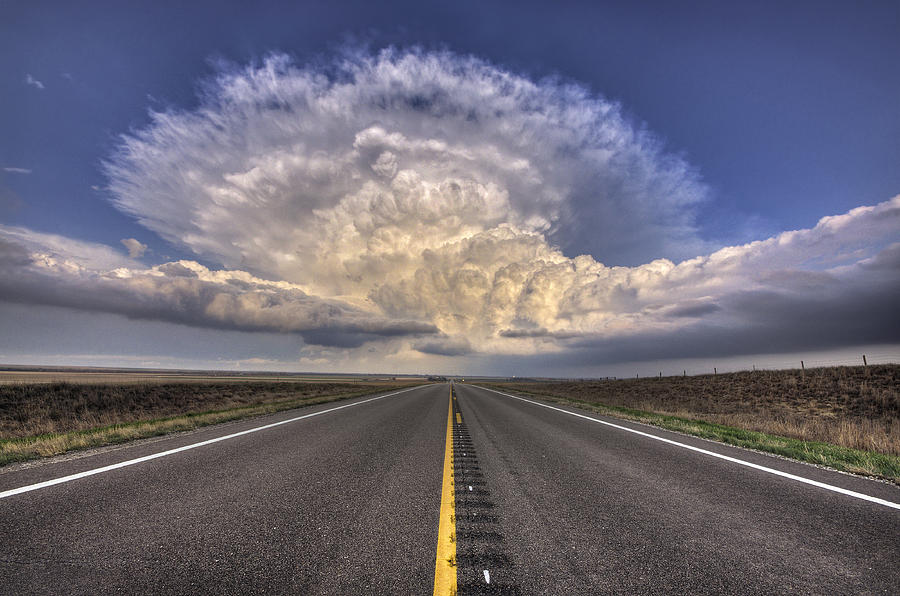 Weather Photograph - Explosive by Zach  Roberts