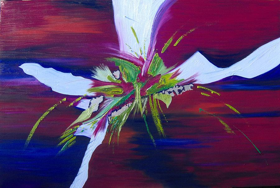 Explotion Painting by Pia Malmstrup