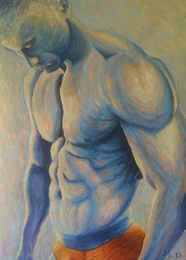 Gay Painting - Exposed by Mats Eriksson