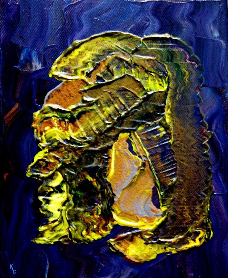 Man Painting - Exposure by Karen L Christophersen
