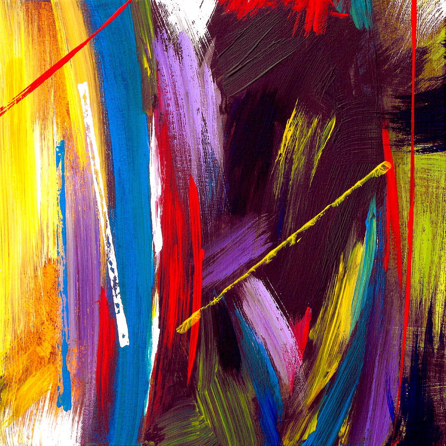 Abstract Painting - Express Yourself by Ruth Palmer