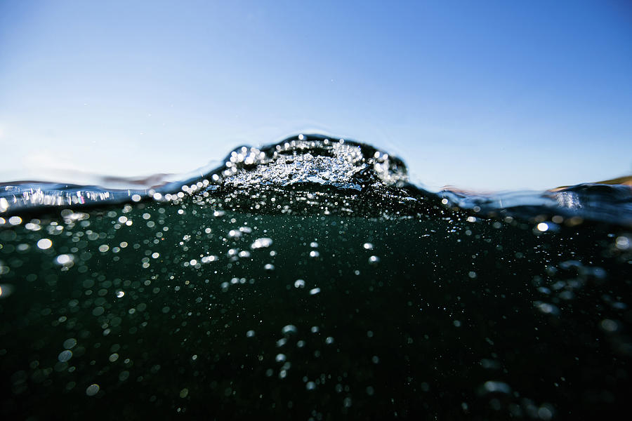Underwater Photograph - Expressive Water by Gemma Silvestre