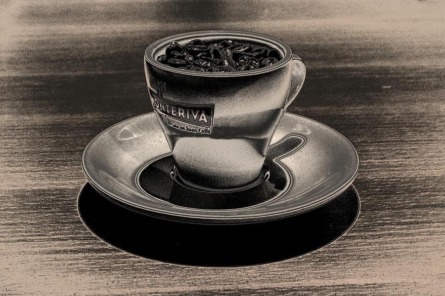 Cafe Photograph - Expresso.piccolo.argenteo by Robert Litewka