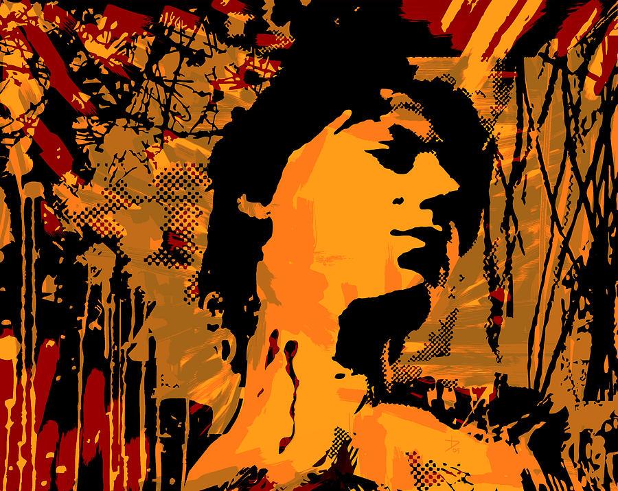 Digital Graffiti Digital Art - Exsanguis by Tom Deacon