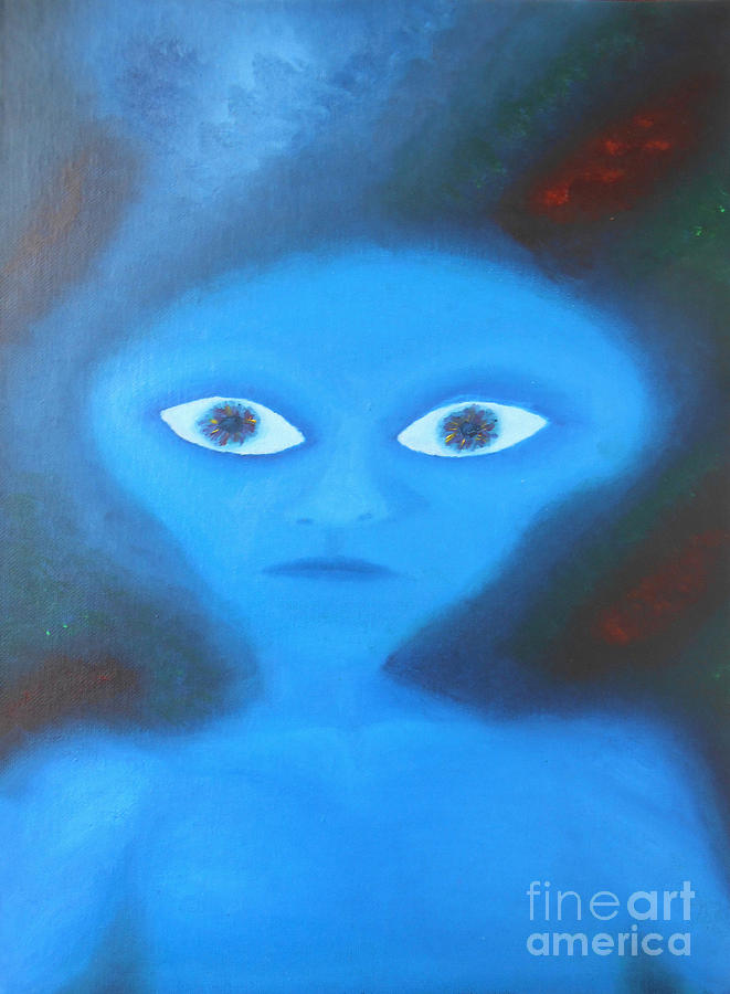 Extra-terrestrial Painting