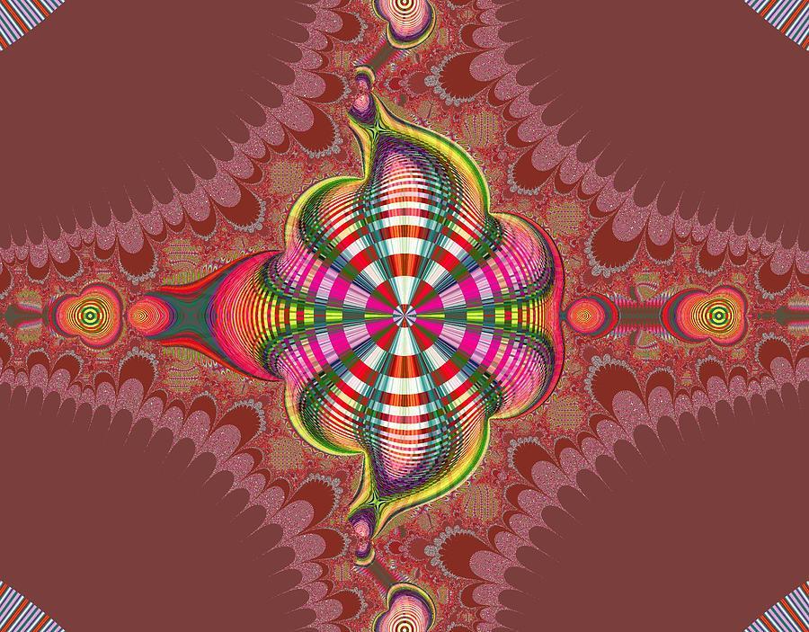 Digital Digital Art - Extraordinaire De Fleurs by Thomas Smith