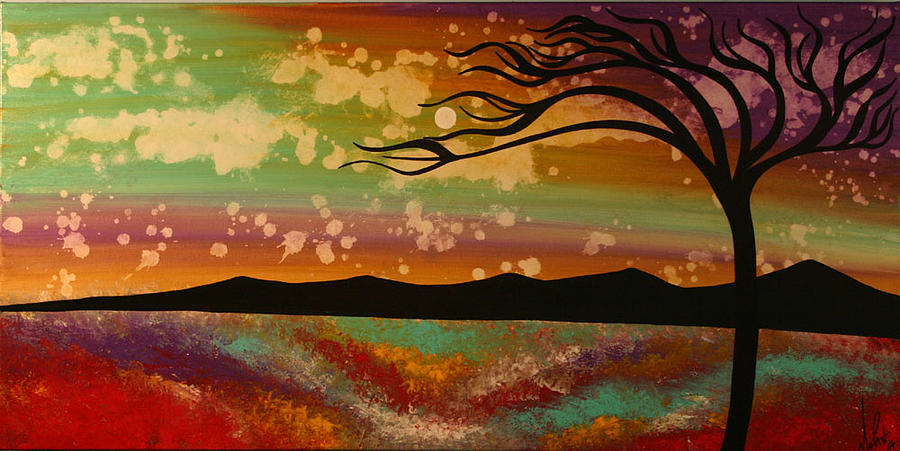 Abstract Painting - Extraordinary by Moran Danan