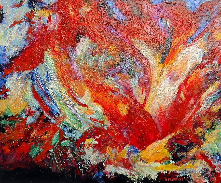 Abstract Painting - Exuberance by Michael Durst