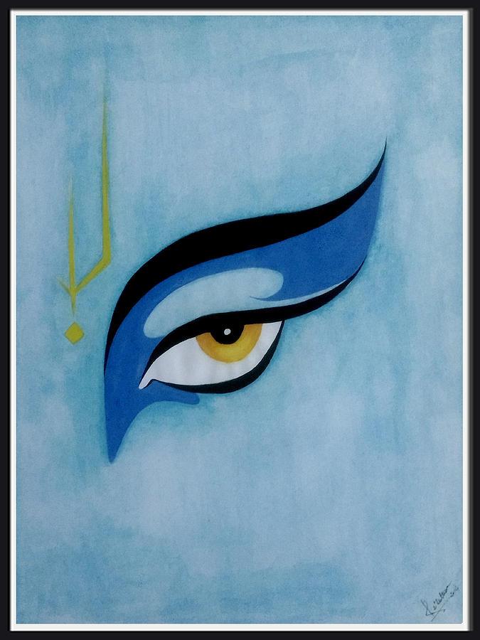Eye Of Lord Krishna by Nitesh Suthar