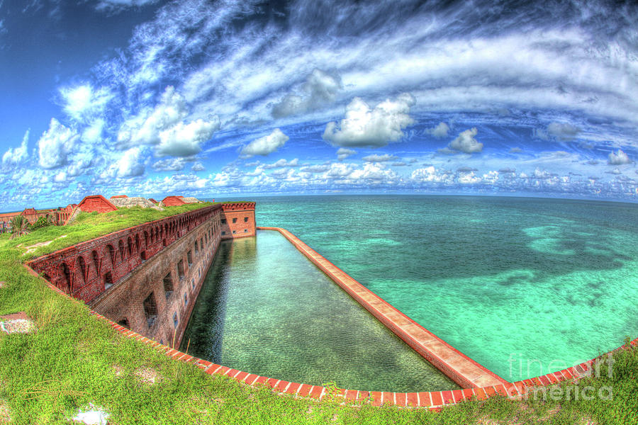 Florida Photograph - Eye Of The Fort by Perry Hodies III