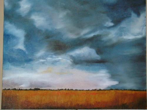 Eye Of The Storm Painting by Andrew Davies