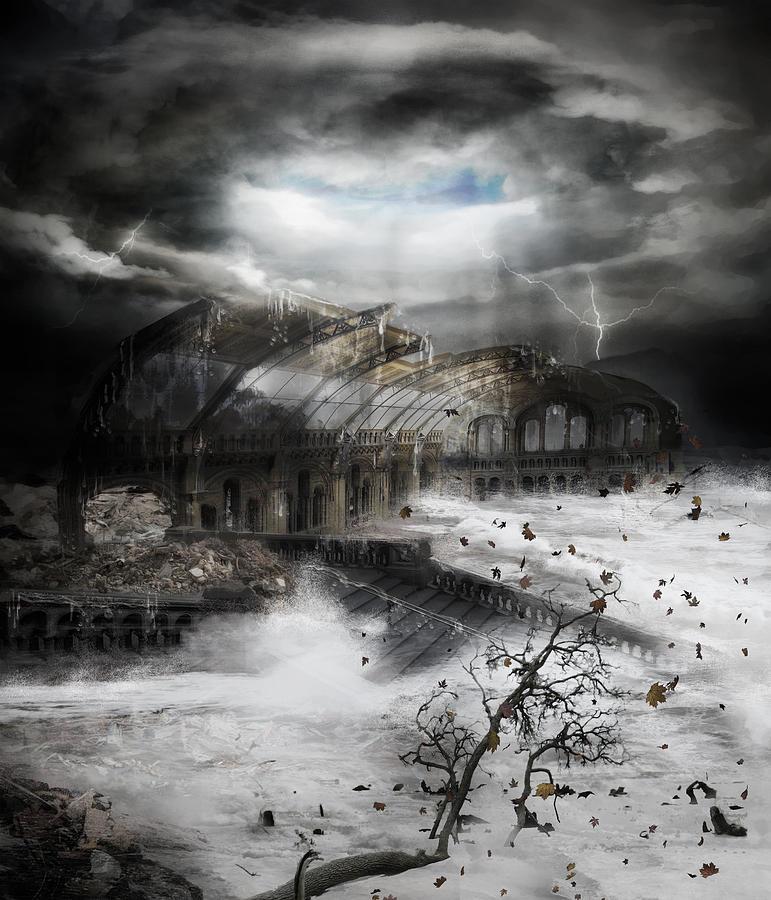 Eye Of The Storm Digital Art